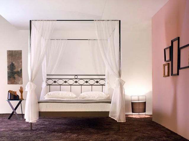 Letto baldacchino divina letti e materassi bologna - Camera da letto baldacchino ...