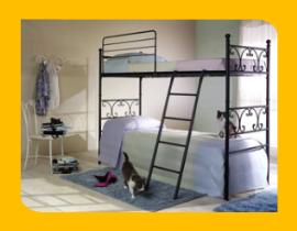 Vendita online di letti in ferro battuto, materassi, reti ...