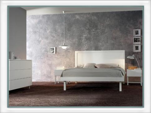 Letto maxi con pannello in legno letti e materassi for Letti vendita on line
