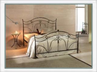 Shop online di letti matrimoniali in ferro battuto - Letti e ...